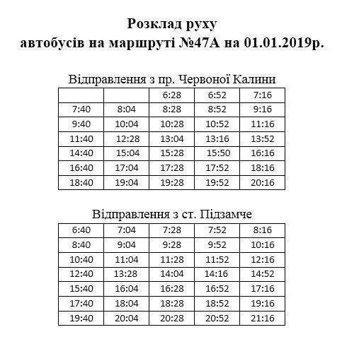 Не мерзни на зупинці: 1 січня львівські маршрутки курсуватимуть за спеціальним графіком фото 7