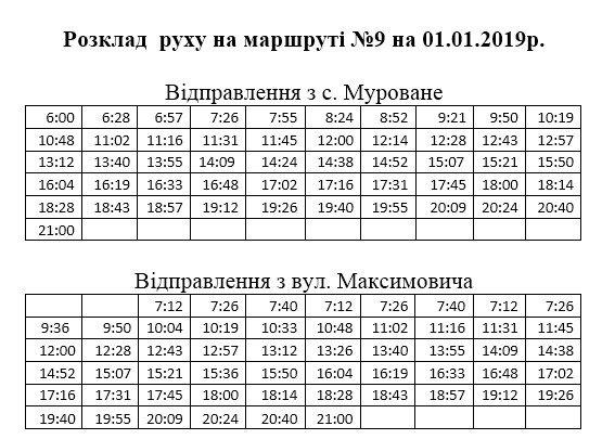 Не мерзни на зупинці: 1 січня львівські маршрутки курсуватимуть за спеціальним графіком фото 6