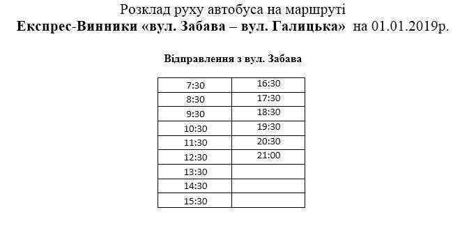 Не мерзни на зупинці: 1 січня львівські маршрутки курсуватимуть за спеціальним графіком фото 2